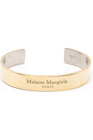 Maison Margiela Naiset Rannekorut - Logo embossed cuff