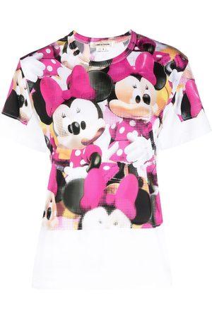 Comme des Garçons Naiset T-paidat - Minnie Mouse print cotton T-shirt