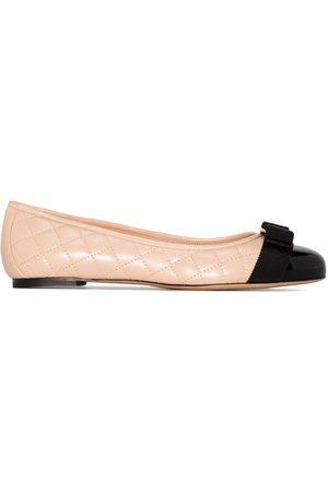 Salvatore Ferragamo Quilted ballerina shoes