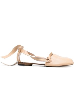 Maison Margiela Tabi knot detailing ballerina shoes