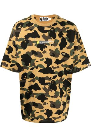 A Bathing Ape Camouflage-print short-sleeved T-shirt