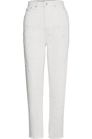 Tommy Hilfiger Naiset Boyfriend - Mom Jean Ultra Hr Tprd Owcd Jeans Mom Jeans Valkoinen