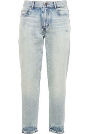 Saint Laurent Miehet Suorat - Straight Fit Denim Jeans