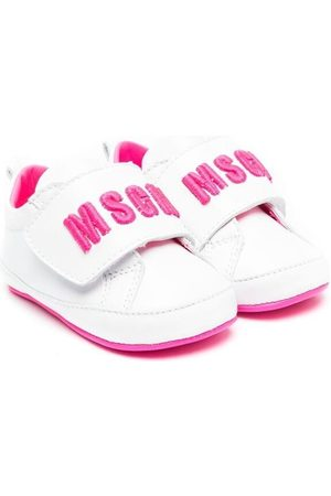 Msgm Tennarit - Touch-strap logo sneakers