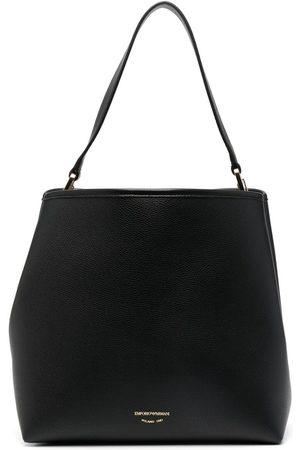 Emporio Armani Logo-debossed shoulder bag