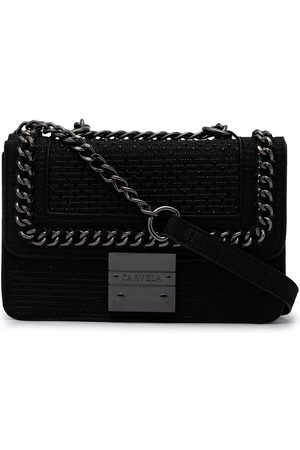 Carvela Naiset Olkalaukut - Mini Bailey textured-leather bag