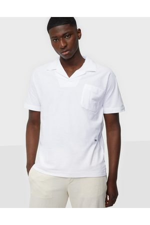 SELECTED Miehet Pikee - Slhrelaxalbion Ss Polo G Pikeepaidat Bright White