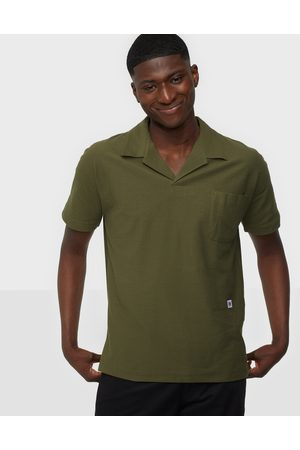 SELECTED Miehet Pikee - Slhrelaxalbion Ss Polo G Pikeepaidat Olive Night