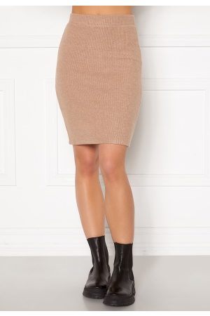 VILA Haudi Knit Skirt Nomad XL