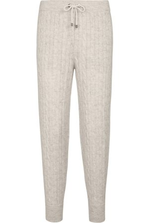 Brunello Cucinelli Mohair and wool-blend sweatpants