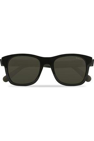 Moncler ML0192 Sunglasses Black/Smoke Polarized