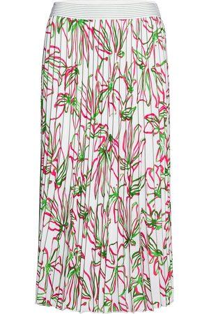 Gerry Weber Naiset Midihameet - Skirt Long Woven Fab Polvipituinen Hame Vaaleanpunainen