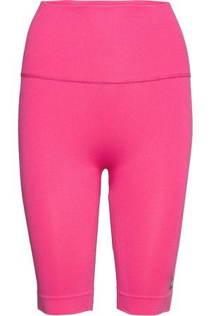 adidas Naiset Shortsit - Formotion Sculpt Biker Short Tights W Shorts Sport Shorts Vaaleanpunainen