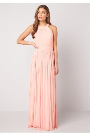 Moments New York Linnea Pleated Gown Light pink 38
