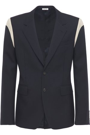 Alexander McQueen Miehet Päällystakit - Single Breast Wool Jacket