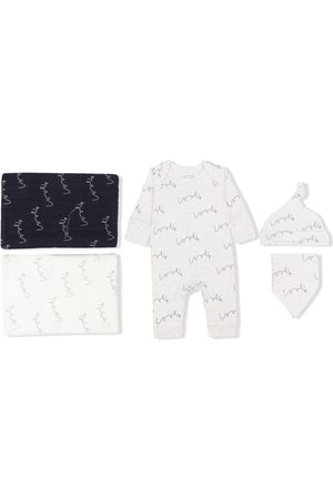 From Babies With Love Love organic cotton baby gift set