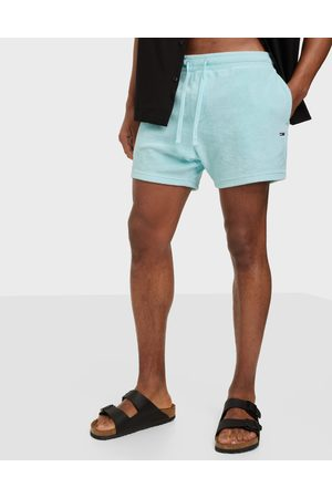 Tommy Hilfiger Miehet Shortsit - Tjm Toweling Short Shortsit Blue