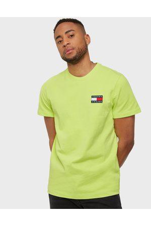 Tommy Hilfiger Miehet T-paidat - Tjm Tommy Badge Tee T-paidat ja topit Green