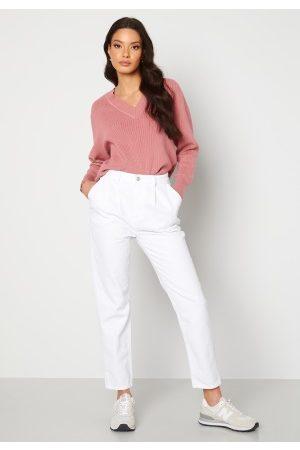 Trendyol Naiset Korkeavyötäröiset - Eco Cotton High Waist Jeans White 42