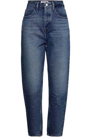 Tommy Hilfiger Naiset Boyfriend - Mom Jean Ultra Hr Tprd Emf Spmbr Jeans Mom Jeans Sininen