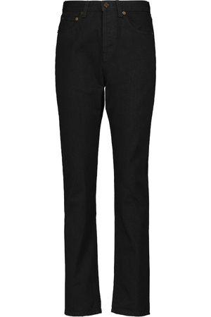 Saint Laurent High-rise slim jeans