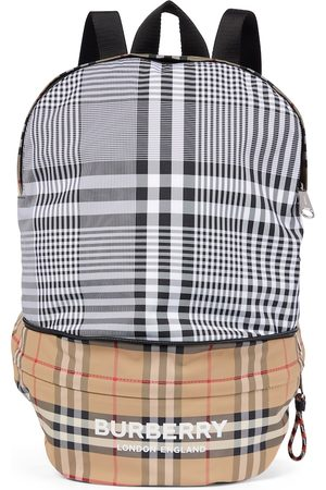 Burberry Tytöt Reput - Vintage Check convertible backpack
