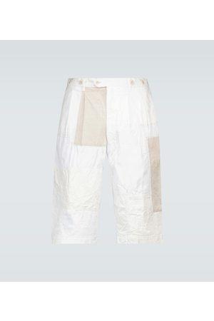 JUNYA WATANABE Miehet Shortsit - Straight-fit patchwork shorts