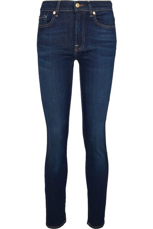 7 for all Mankind Naiset Slim Fit - Roxanne mid-rise slim jeans