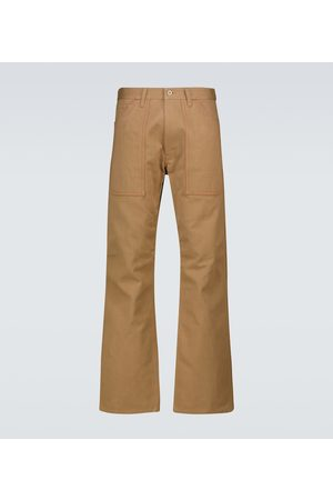 JUNYA WATANABE Miehet Chinot - Straight-fit cotton chino pants