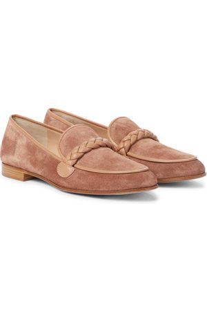 Gianvito Rossi Naiset Loaferit - Belem suede loafers