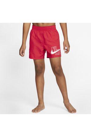 Nike Lap 4 Older Kids' (Boys') Swim Shorts - Red