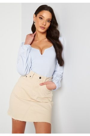 Object Naiset Minihameet - Penny HW Rwill Skirt Sandshell XL