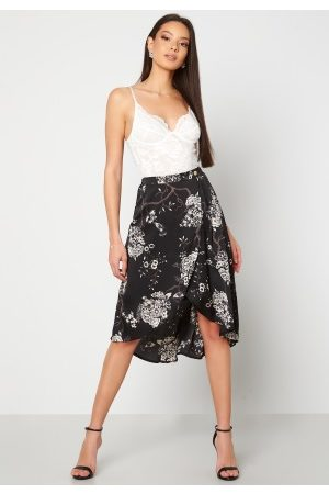 Chiara Forthi Nadia wrap skirt Black / Patterned 34