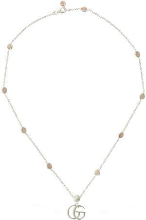 Gucci Naiset Kaulakorut - Double G Mother Of Pearl Necklace
