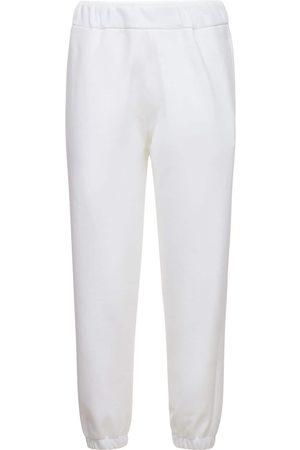 AG Naiset Collegehousut - Straight Cotton Sweatpants
