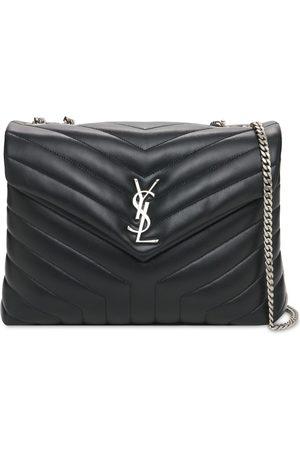 Saint Laurent Medium Loulou Y-quilted Leather Bag