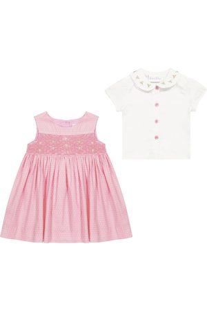Rachel Riley Setit - Baby cotton dress and blouse set