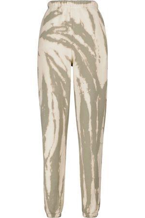 Les Tien Tie-dye cotton sweatpants