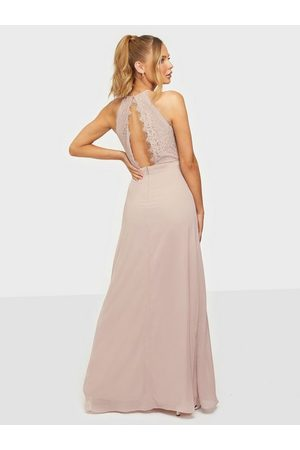 NLY Eve Adorable Sportscut Gown Dusty Pink