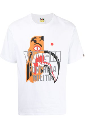 A Bathing Ape Graphic-print cotton T-shirt
