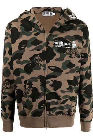 A BATHING APE® Camouflage-print hoodie
