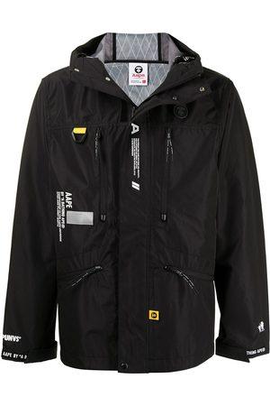 AAPE BY *A BATHING APE® Zip-front hooded jacket