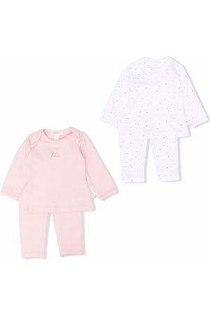 MARIE CHANTAL Embroidered cotton tracksuit set