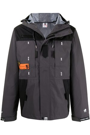 AAPE BY *A BATHING APE® Zip-up hooded jacket