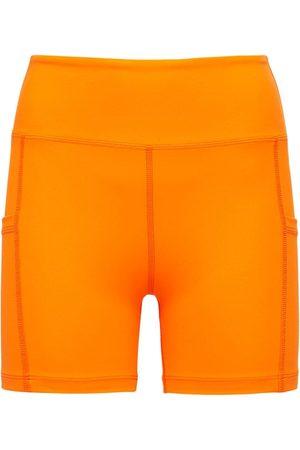 YEAR OF OURS Naiset Shortsit - High Waist Biker Shorts