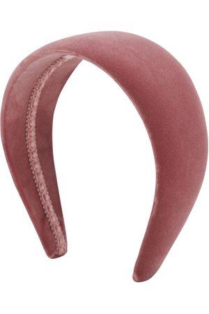 CA&LOU Anastasia Cotton Velvet Headband