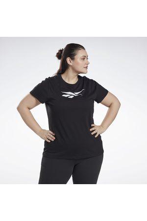 Reebok Naiset T-paidat - Graphic Vector T-Shirt (Plus Size)