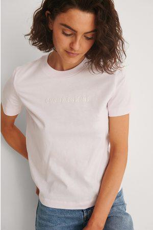 Calvin Klein Naiset Paidat - T-Paita - Pink