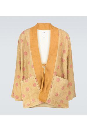VISVIM Kiyari leather kimono jacket