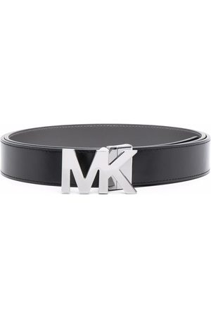Michael Kors Miehet Vyöt - Logo-plaque leather belt